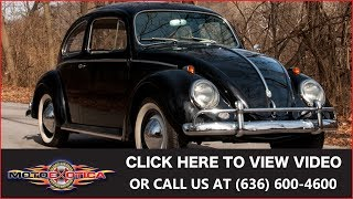 1958 Volkswagen Beetle || For Sale | Kholo.pk