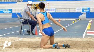 2021 고성 전국 실업 육상경기대회 멀리뛰기 이미지
