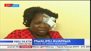 Mbiu ya KTN: Mwalimu wa shule ya Toniok avamiwa