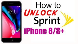 How to Unlock Sprint iPhone 8 & 8+ (Plus) (Boost & Virgin Supported) - Use in USA & Worldwide