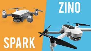 ⚔️DJI Spark Vs Hubsan Zino full comparison (Video , flight modes, photos)