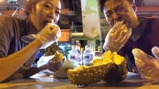 ドリアンは臭いって言われるけど実際どんな匂い?(猫山王)マレーシア コタキナバル/Fresh Durian  In Malaysia
