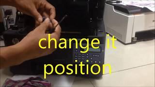 fix printer hp laser jet M26a print has sound - hmong video