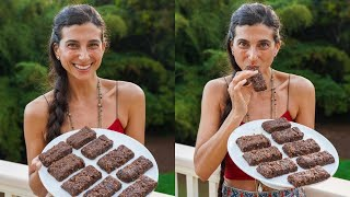 Homemade Protein Bars 🍫 Easy & Healthy Nut-Free & Gluten-Free Recipe 🌱FullyRaw Vegan
