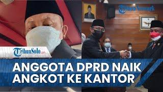 Anggota DPRD Indramayu Ini Selalu Naik Angkutan Umum: Saya Belum Punya Mobil