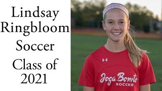 Lindsay Ringbloom Soccer | Class of 2021 | Forward Midfielder Defense | Fall 2017