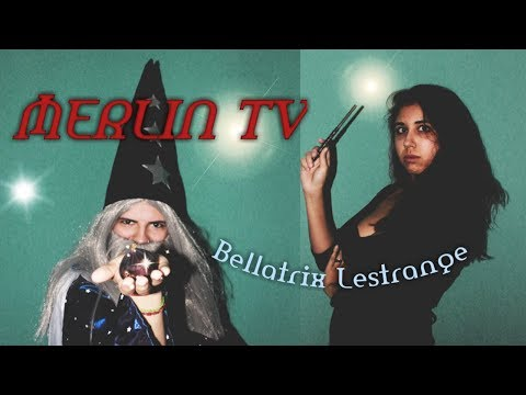 MERLIN TV: Bellatrix Lestrange   A Harry Potter Parody