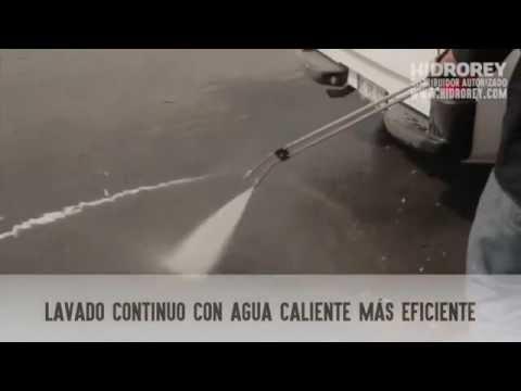 Hidrolavadora Con Caldera Agua Caliente