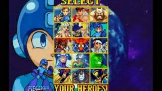 Todos los Secretos de MARVEL vs CAPCOM Clash of Super Heroes