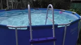 Как пользоваться каркасным бассейном