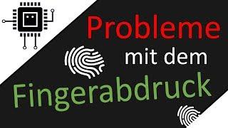 Probleme mit dem Fingerabdruck   #Cybersicherheit