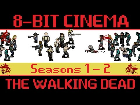 hqdefault - The Walking Dead como si fuese un videojuego de 8 bits