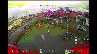 Chasing cars is FUN! | Tinyhawk II Race + RadMas TX12