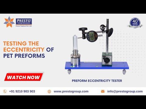 Preform Eccentricity Tester