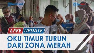 Kabupaten OKU Timur Sudah Bebas dari Zona Merah Covid-19, Capaian Vaksinasi Diperkirakan 20,8%