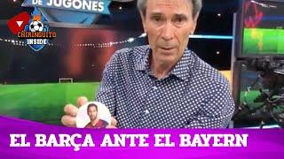 🔵🔴 El BARÇA, ante el TODOPODEROSO BAYERN   La pizarra del Lobo Carrasco   Chiringuito Inside