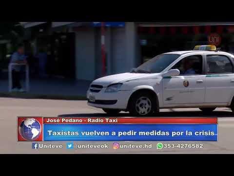 Situación crítica de los taxistas