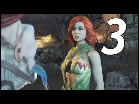 Injustice 2 Walkthrough Part 3 - Harley Quinn Faces Off With Poison Ivy