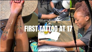 I GOT MY FIRST TATTOO | Getting Matching Tattoos With My Mom!