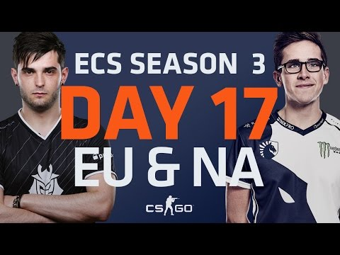 ECS S3 D17: Astralis vs Mouz // G2 vs fnatic // SK Gaming vs Liquid // Renegades vs Ghost
