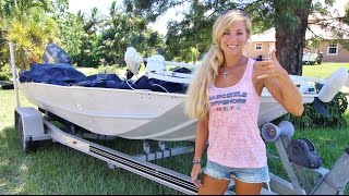 Boating HOW TO: Remove Hull Bottom Paint the Easy Way!