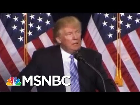President Donald Trump Remarks May Undo His Racist Policies | Rachel Maddow | MSNBC