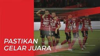 Bali United Kunci Gelar Juara Liga 1 2019 seusai Tumbangkan Semen Padang