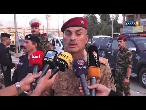 شاهد بالفيديو.. القوات الأمنية تحبط مخططا إرهابيا في الأنبار