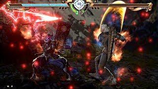 Soulcalibur 6 - Geralt vs Yoshimitsu (Soulcalibur VI 2018) PS4 Pro