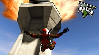 GTA V PC MODS - Masacre DEADPOOL En Los Santos !! OMG - DEADPOOL MOD GTA 5 - ElChurches