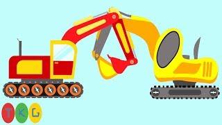 Lắp Ráp Xe Xúc Đất, Excavator | TopKidsGames (TKG) 268