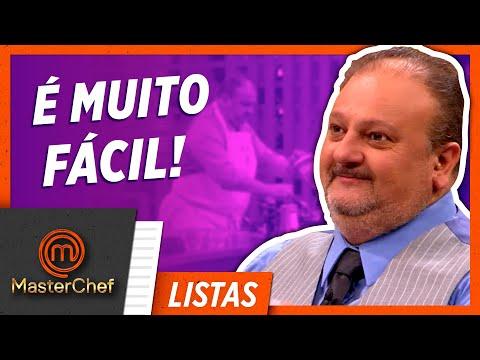 6 AULAS DOS JURADOS   LISTAS MASTERCHEF