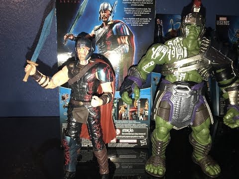 Marvel Legends movie THOR Ragnarok Gladiator Hulk BAF Wave Unboxing Review