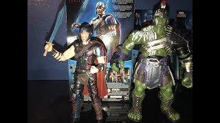 Marvel Legends movie THOR Ragnarok Gladiator Hulk BAF Wave Unboxing Review