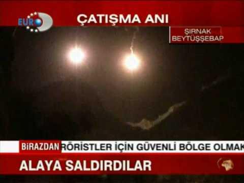 Sirnak`da TSK-PKK catisma.