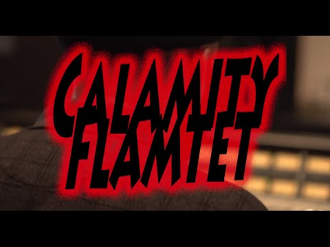 Recording at I.V. Lab Studios with Calamity Flamtet