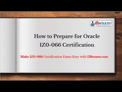 Oracle Database 12c 1Z0-066 Certification Exam | Latest Questions ...