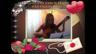 SIMONA-Greensleeves John W. Duarte (Old English Song) 2015
