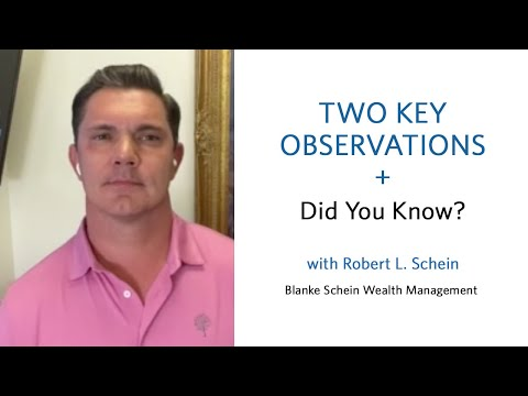 Two Key Observations + Did You Know?