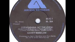 COPACABANA (At the Copa) - Barry Manilow (1978)