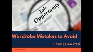 Wardrobe among mistakes that will cost you that job-Standard Group, Head of HR; Nicholas Siwatom