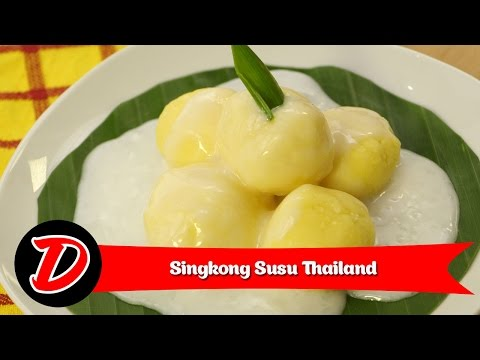 Video Resep Singkong Susu Thailand