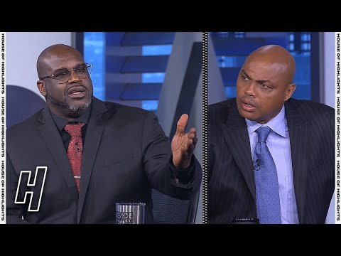 Shaq & Charles Barkley Get into Heated Argument – Inside the NBA   May 6, 2021