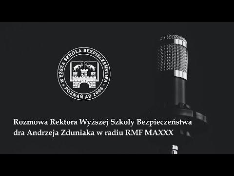 Wywiad Rektora Uczelni dla RMF FM