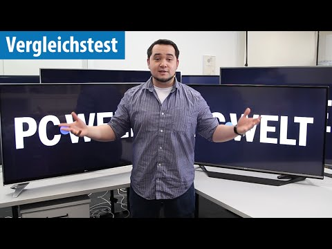 Die besten UHD-Fernseher zur EM 2016 im Vergleichs-Test | deutsch / german