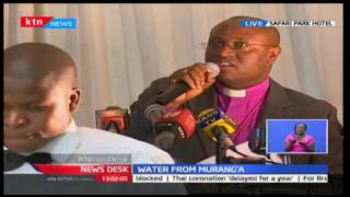 News Desk: Water CS Eugene Wamalwa meets with Murang'a leaders over vexed water project, 17/10/16
