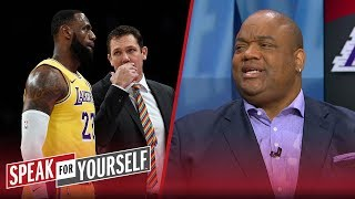 Whitlock and Wiley on Luke Walton's job, LeBron partying and LaVar Ball | NBA | SPEAK FOR YOURSELF