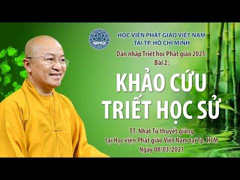 Khảo cứu triết học sử l Dẫn nhập triết học Phật giáo