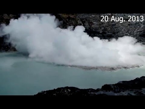 Phreatic eruptions at Poás volcano, Costa Rica