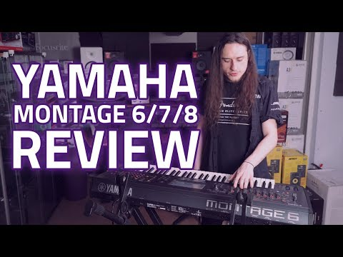 Yamaha Montage 6 Synthesizer 61 Key Keyboard Workstation Review